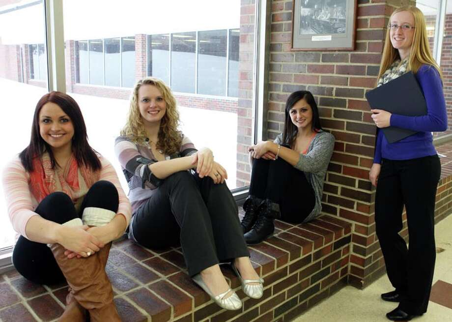 Photo providedThis year's presidential-level awardees are, from left: Shayann Richardson, Nicole Solomon, Katlin Kindel and Tara Pummell.
