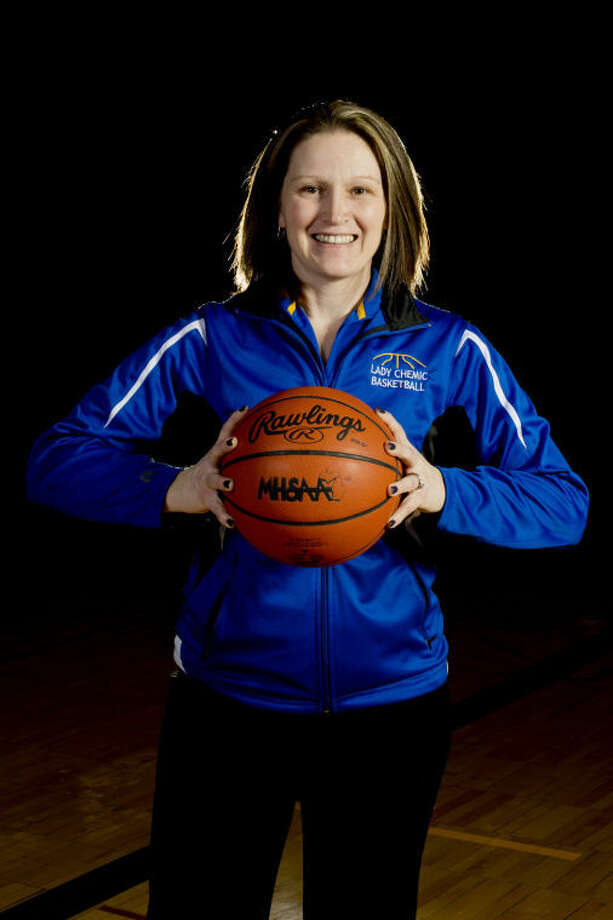 NEIL BLAKE | nblake@mdn.netMidland head coach Elaine Mahabir Photo: Neil Blake/Midland  Daily News