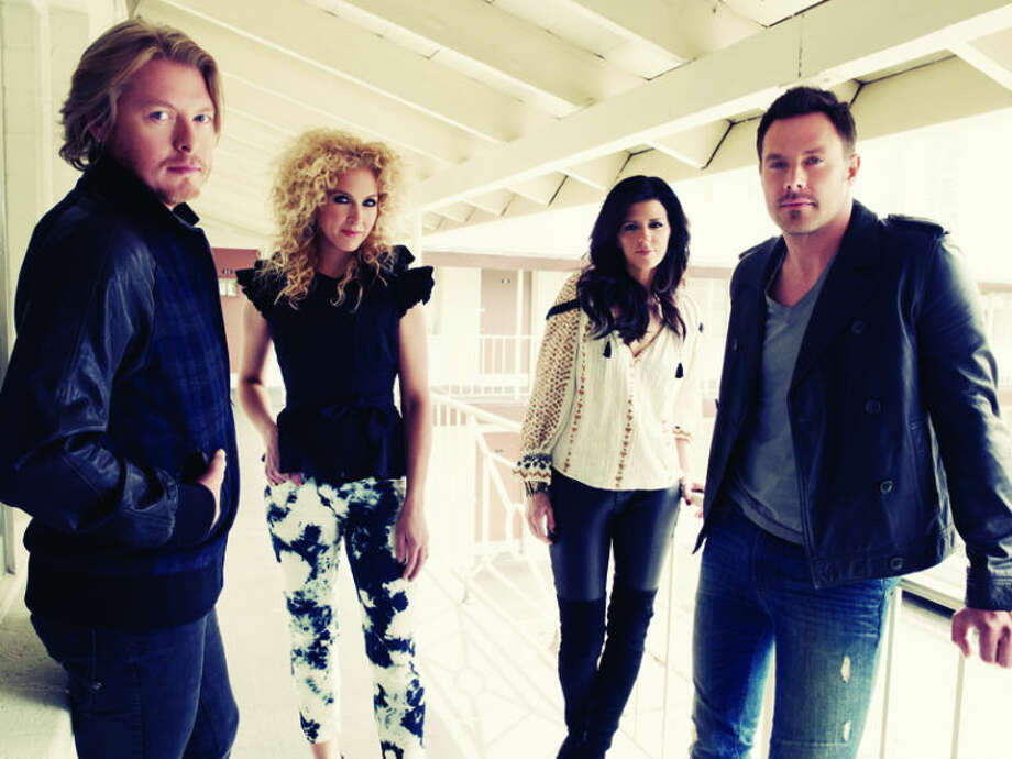 Members of the band Little Big Town are show in this promotion photograph.