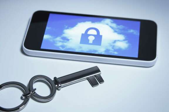 The FBI says it's not seeking a skeleton key to hack all iPhones. But Apple says the case could set a precedent for forcing a company to write code to help break any iPhone. (Cultura RF/ Getty Images)