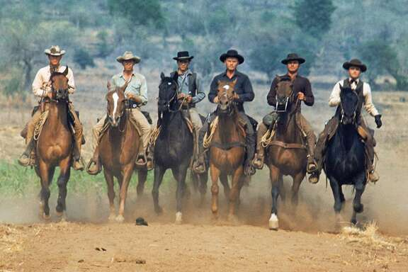 """The enormously popular """"The Magnificent Seven"""" (1960) was an American spin on Akira Kurosawa's classic, """"Seven Samurai."""" A remake is in the works, starring Denzel Washington and Chris Pratt. Photo courtesy Twentieth Century Fox Home Entertainment."""