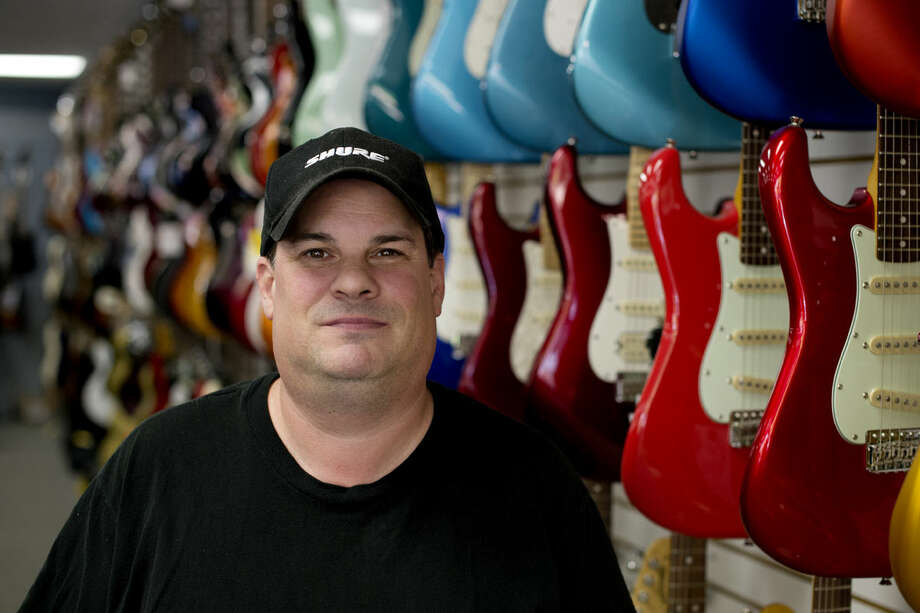 Steve Meyers is the new owner of Mid Michigan Music at 240 E. Main St. in downtown Midland. Photo: NEIL BLAKE | Nblake@mdn.net