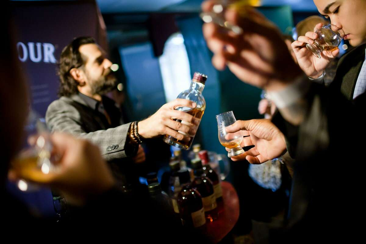 Whiskies of the World comes to San Jose and San Francisco this week, showcasing more than 200 Scotch, bourbon, Irish, Canadian and other whiskies.