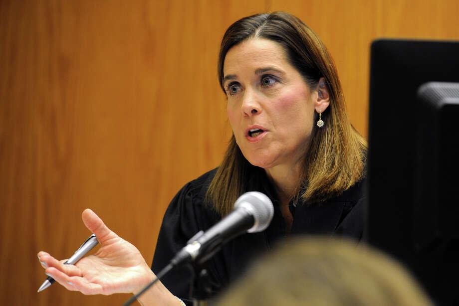 Superior Court Judge Barbara Bellis. Photo: Ned Gerard / Hearst Connecticut Media / Connecticut Post