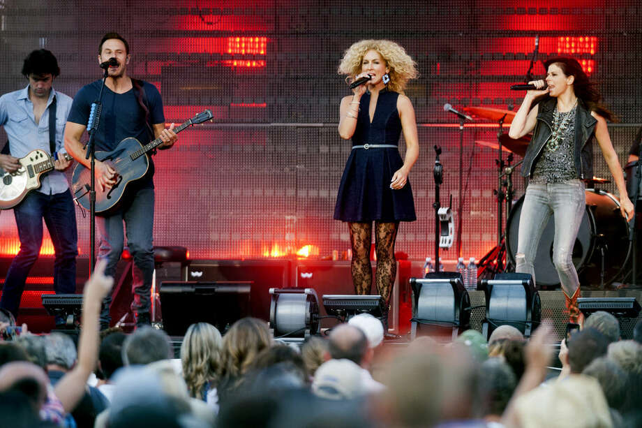 Little Big Town performs at the Midland County Fair on Sunday. Photo: Danielle McGrew | For The Daily News
