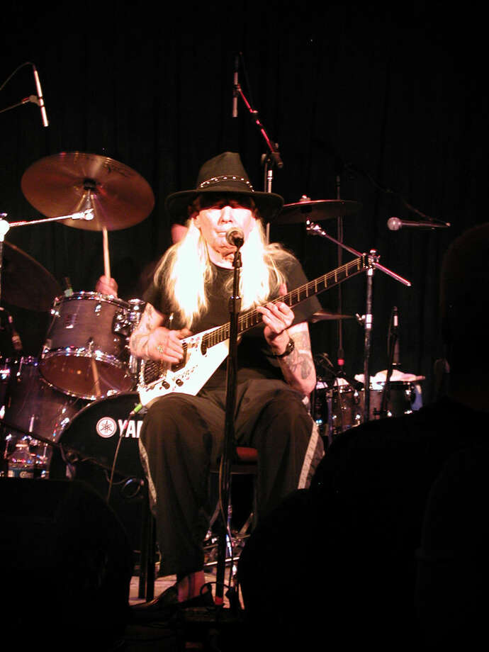 The late Johnny Winter Photo: Steve Griffin   For The Daily News