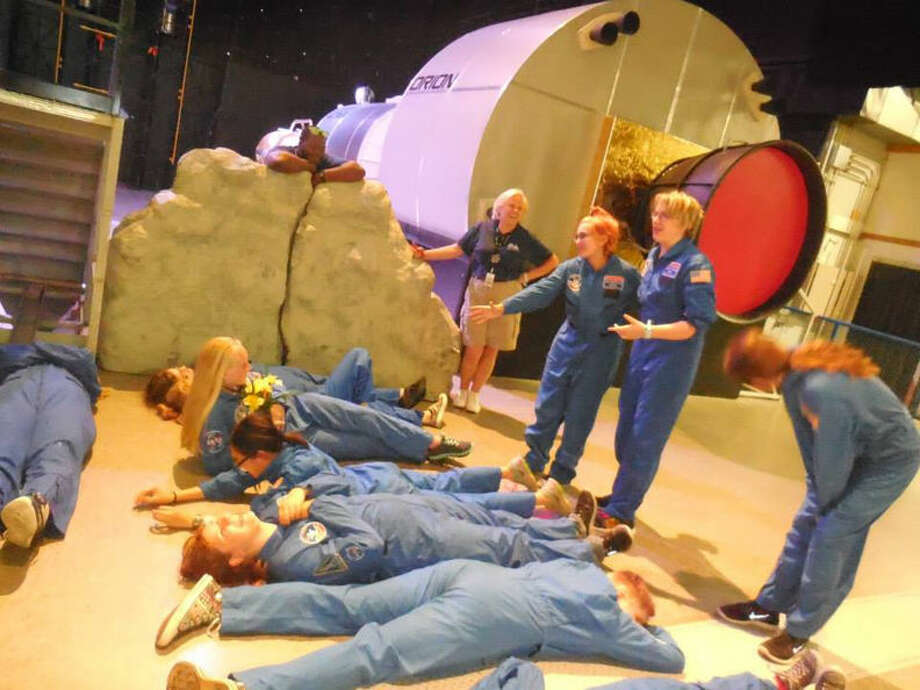 Campers participate in a simulated duration mission at the Space Academy in Huntsville, Ala. Photo: Photo Provided