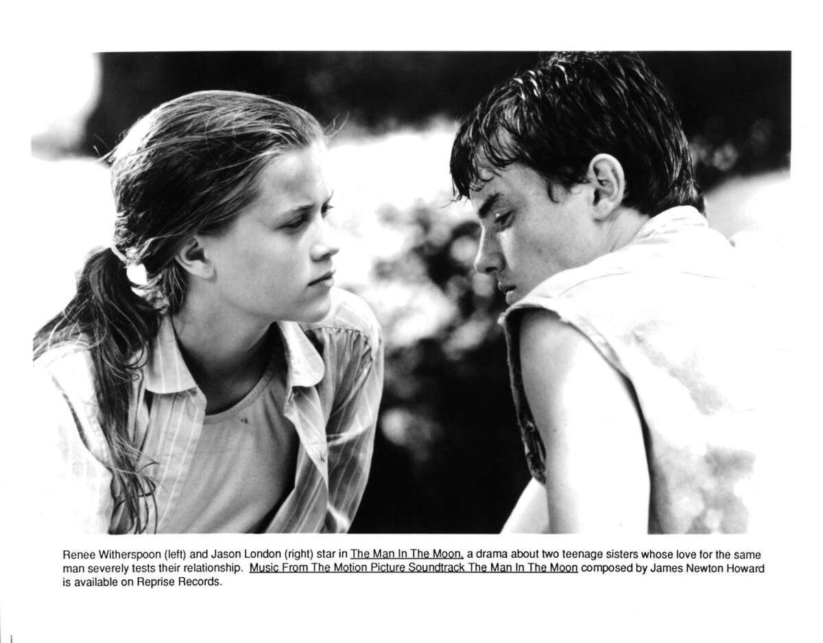 Actress Reese Witherspoon and actor Jason London in a scene from the movie