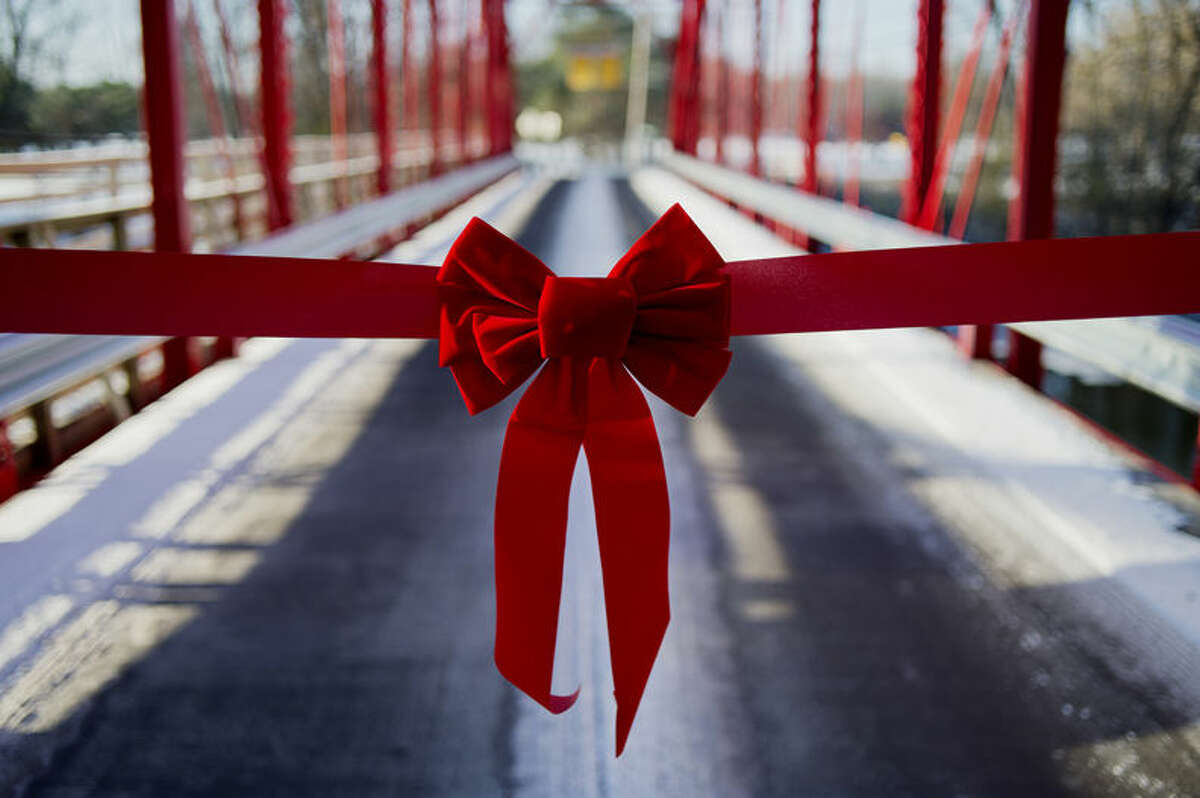 The newly renovated Currie Parkway bridge.