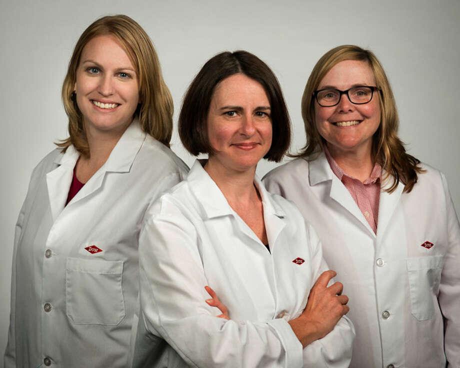 From left: Jaime Curtis-Fisk, Melinda Keefe and Beth Lorsbach Photo: Dan Denardo