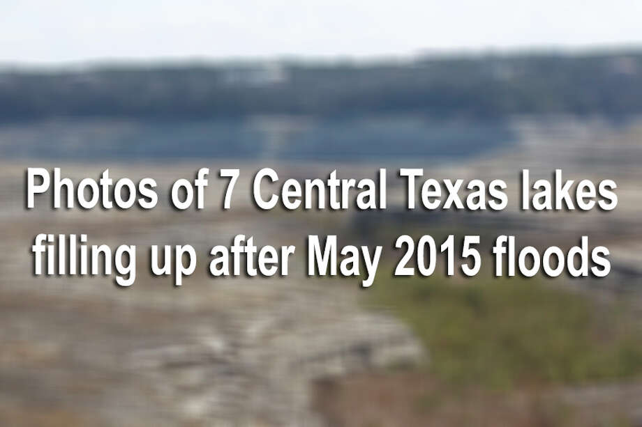 Here are before and after photos of seven waterways during a drought and after the Memorial Day 2015's record rainfall.The storms that swept through Central and South Texas on Memorial Day 2015 dumped up to 10 inches of rain over parts of Central Texas and the lakes and reservoirs are recovering fast. / ©2013 San Antonio Express-News