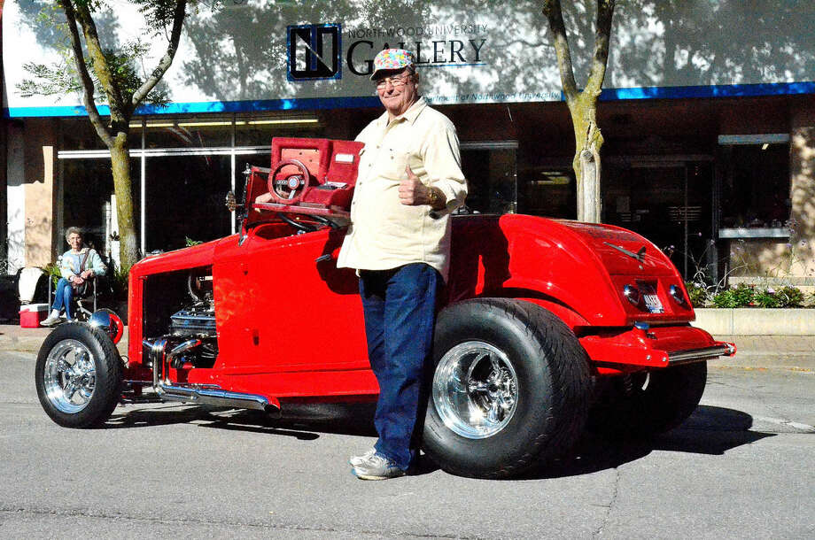 Ed McDonnell and his 1932 Ford roadster