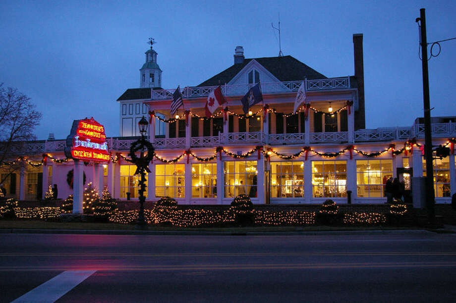 Zehnder's is on Main Street and is brightly decorated. Zehnder's and Bavarian Inn Restaurant  both offer chicken dinners that are well-known for taste as well as quantity, and side dishes that are too numerous to mention. Photo: Niky House | For The Daily News