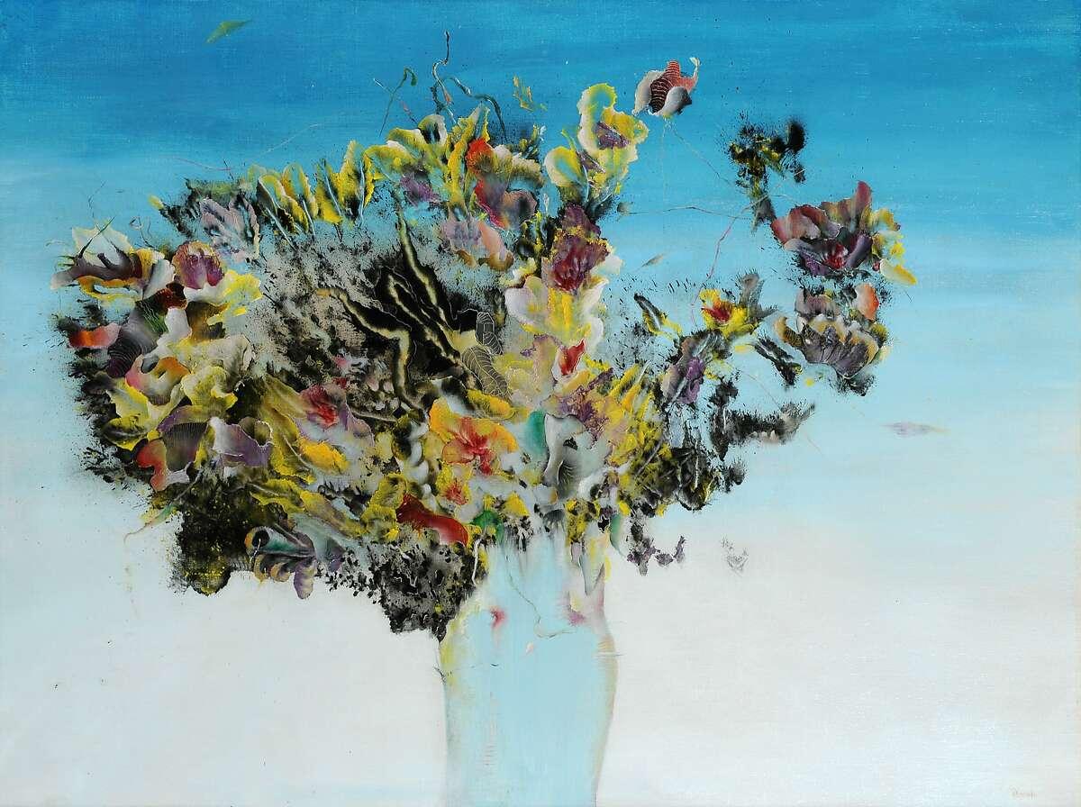 "Enrico Donati's ""Araignee"" (c.1944-45) is on view at Weinstein Gallery through April 9."