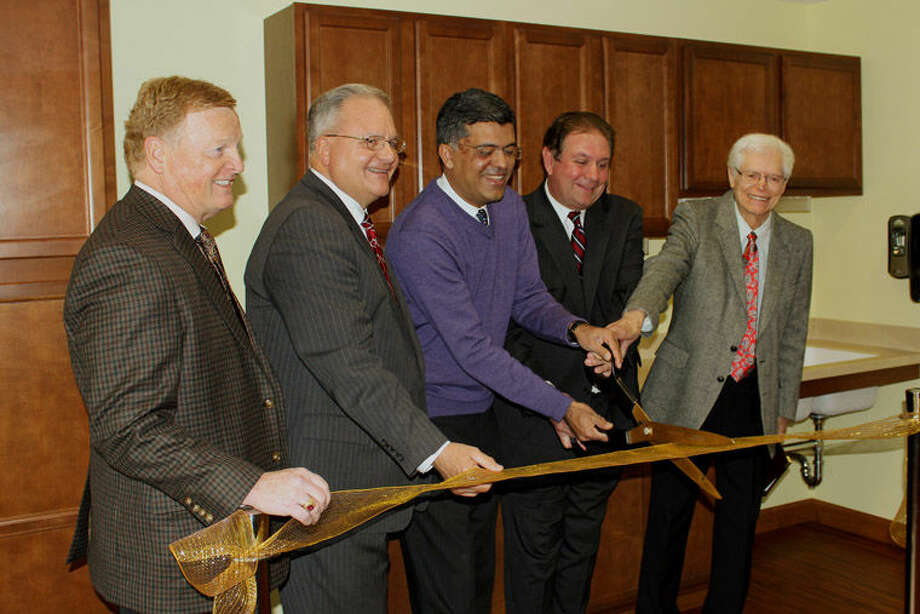 New Hope Valley Assisted Living & Memory Care Community in Saginaw recently had a ribbon-cutting ceremony to celebrate the completion of an expansion project. Photo: Photo Provided