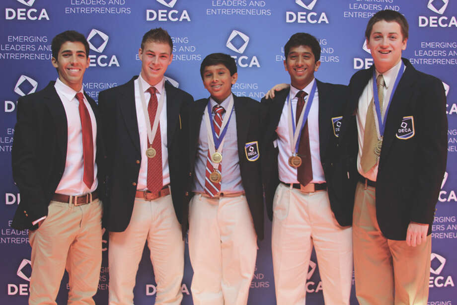 H.H. Dow High School's DECA team members recently earned honors at the International Career Development Conference in Atlanta, Ga. Photo: Photo Provided