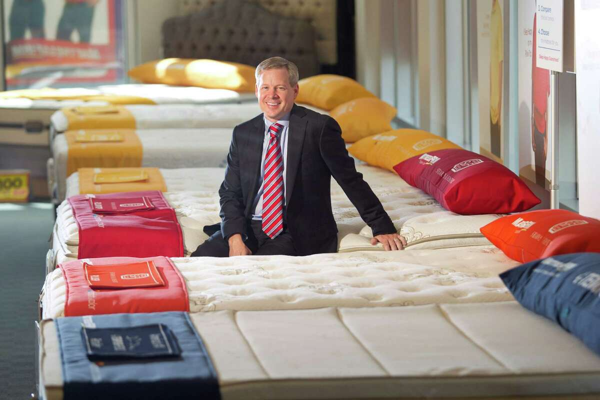 Portrait of Steve Stagner CEO and president of Mattress Firm at the Mattress Firm corporate office store Tuesday, May 21, 2013, in Houston. ( Johnny Hanson / Houston Chronicle )