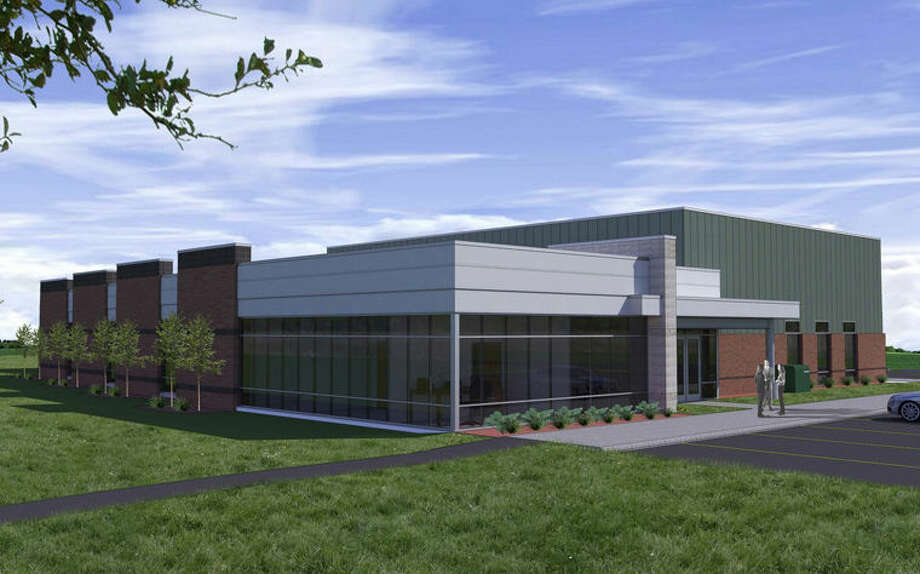 This illustration shows the new Morey Technical Education Center in Mount Pleasant.