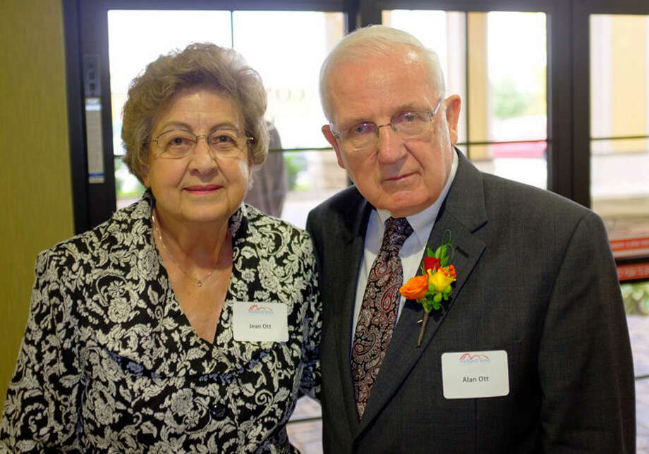 Longtime Midlanders Jean and Alan Ott were recognized as the Midland Area Community Foundation's Philanthropists of the Year.