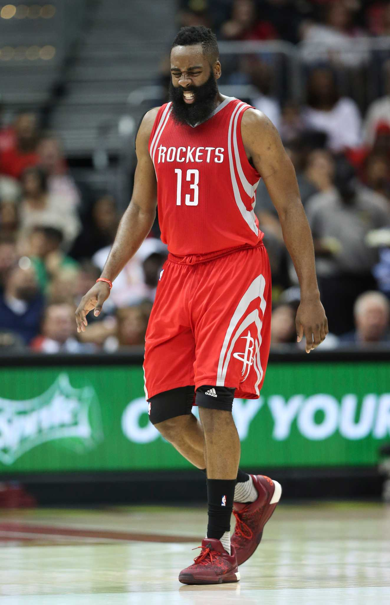 Rockets optimistic James Harden will play tonight