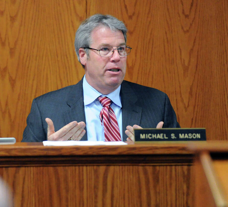Chairman of the Board of Estimate and Taxation, Michael Mason. Photo: Bob Luckey / Bob Luckey / Greenwich Time