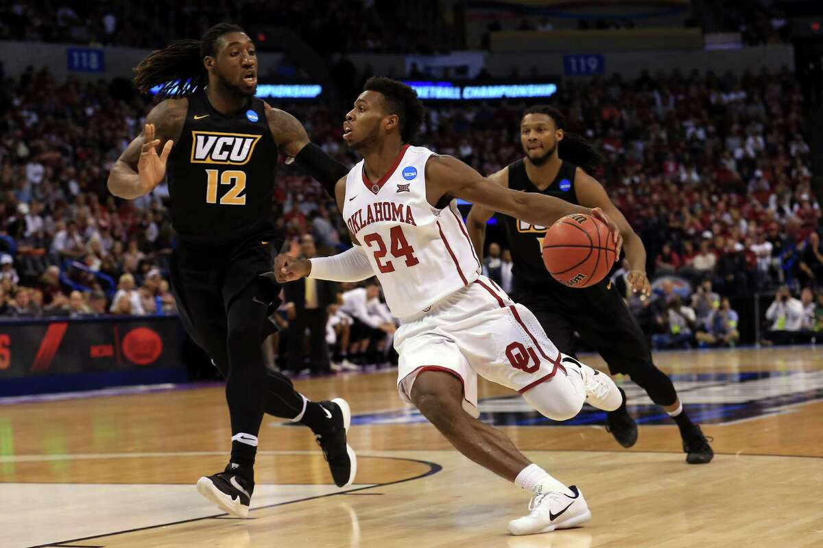 Oklahoma's Buddy Hield (24) will be a target of A&M's defensive game plan, but stopping him is another story, as VCU learned firsthand Sunday.