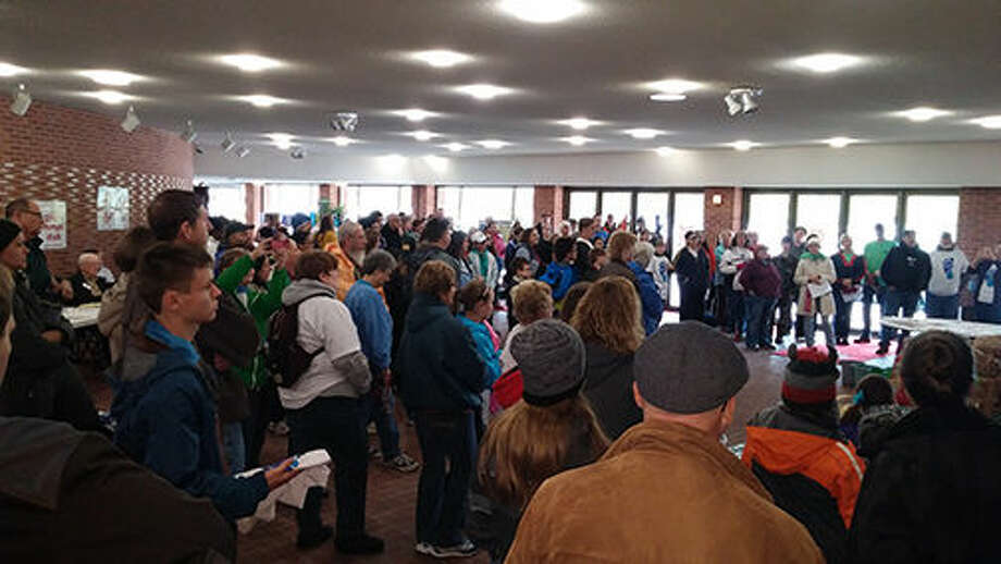 Participants in the Midland Area CROP Hunger Walk have helped push the event's fundraising total past the $1 million mark to help end hunger locally and around the world. Photo: Photo Provided