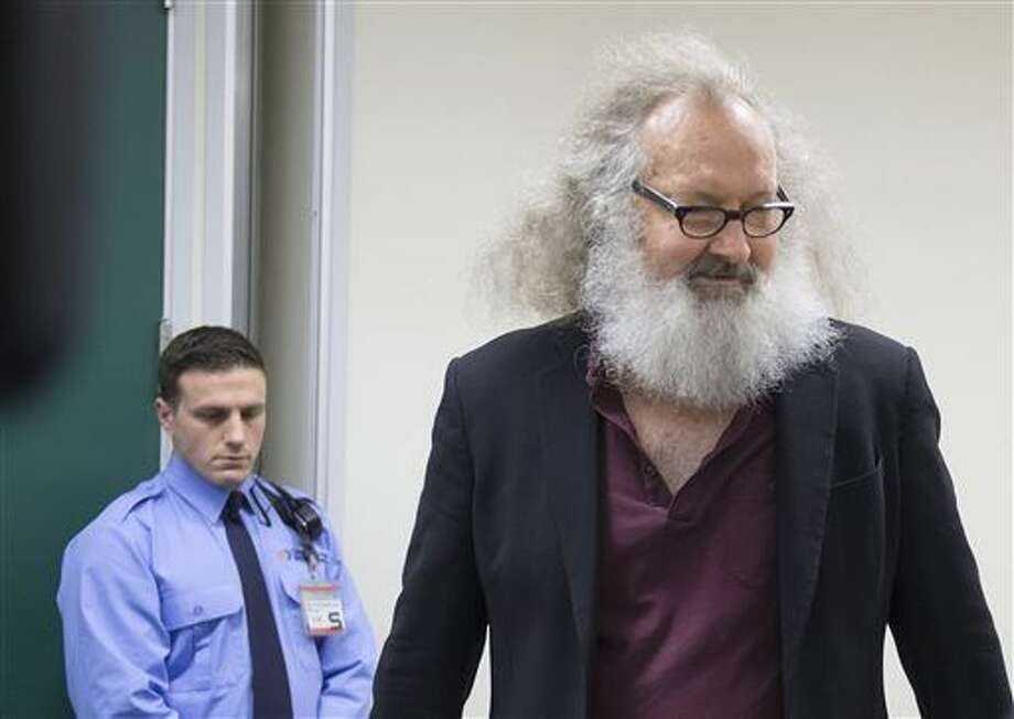 American actor Randy Quaid was taken into custody Friday night while trying to cross into the United States from Canada, Vermont State Police said. Photo: Peter McCabe | The Canadian Press Via AP
