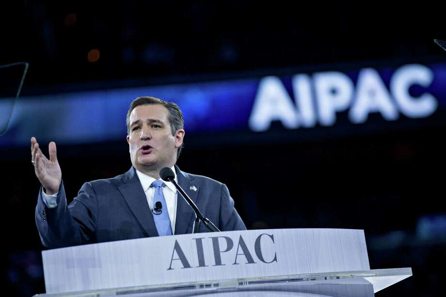 """Ted Cruz blasted Trump for saying he would be """"neutral"""" if he were negotiating between Israel and the Palestinians. Cruz's evangelical base avidly supports Israel. Photo: Andrew Harrer, Stringer / © 2016 Bloomberg Finance LP"""