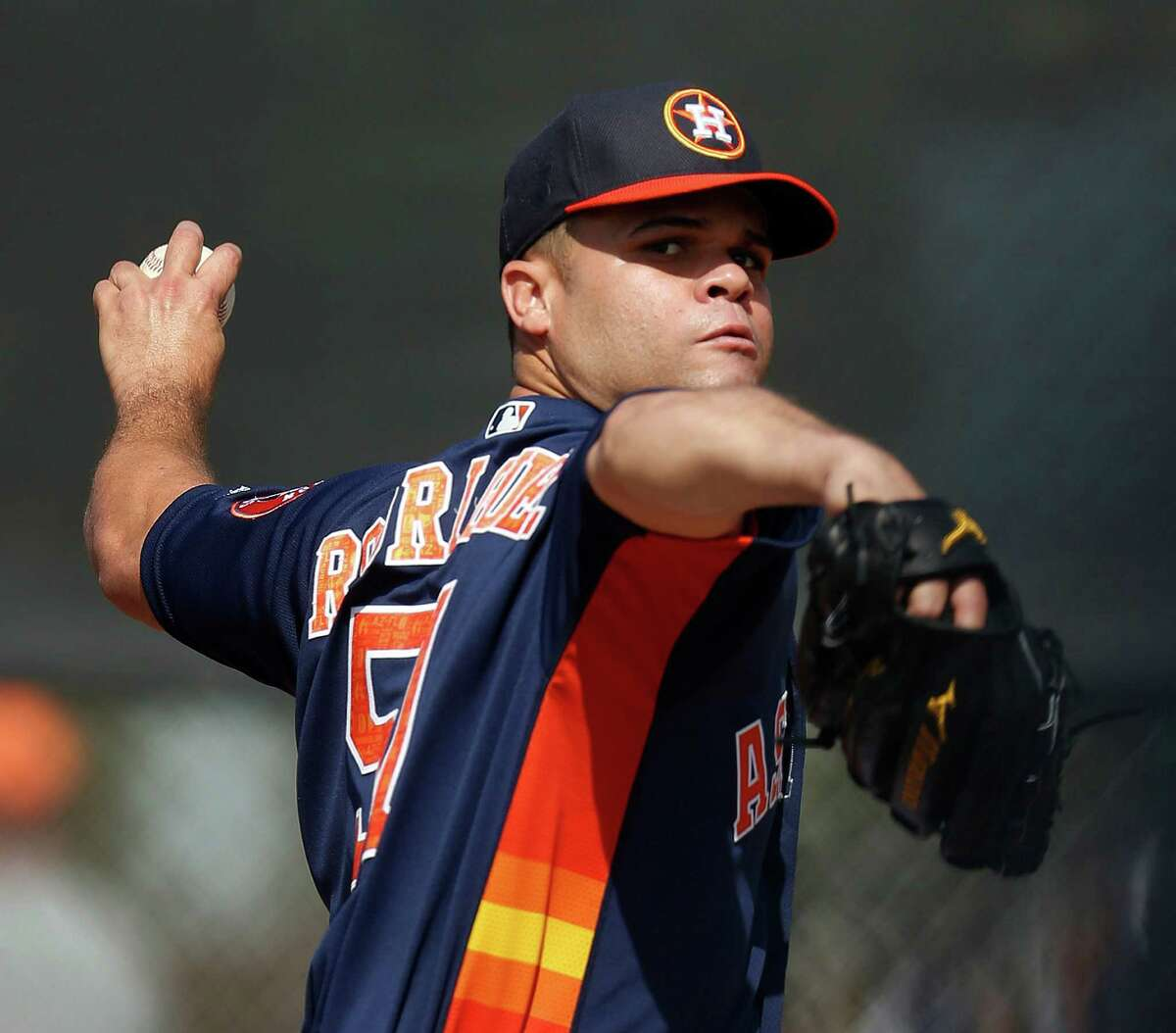 Wandy Rodriguez has a chance to wind up on the Astros' opening-day roster.