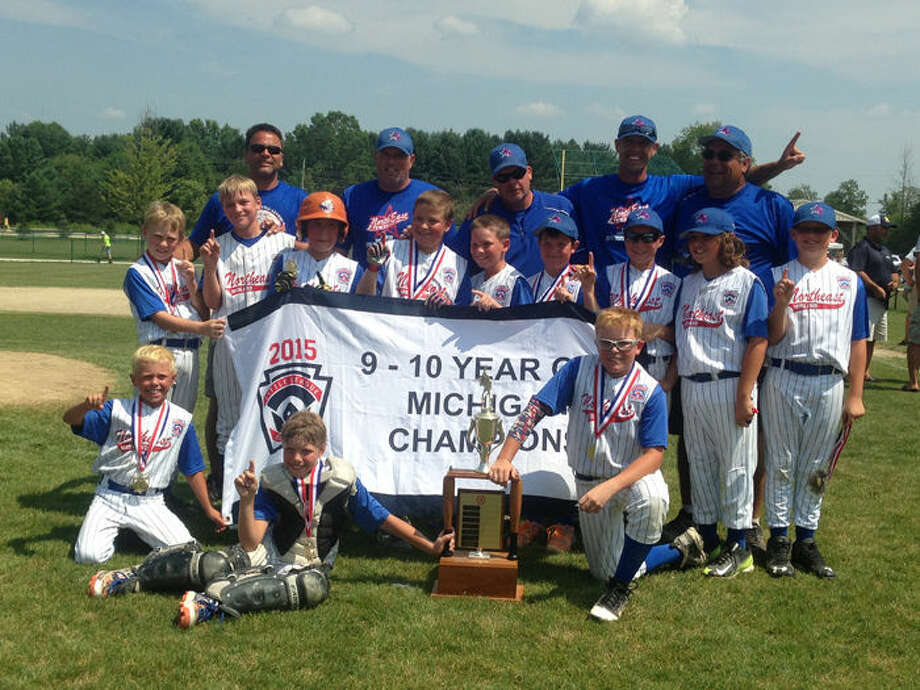 The Northeast state championship team includes (front row, from left) Thomas Kroll, Ben Haney, Braylen Laverty; (middle row, from left) John Adams, Hudson Gerstacker, Thomas Bacigalupo, Tyler Bacigalupo, Nathan Palmateer, Zack Parker, Carter Albright, Fred Temple, Aidan O'Malley; (back row, from left) coaches Clark Gerstacker, Steve Laverty, Chris Haney, Nick Kroll, Andy Bacigalupo. Photo: Photo Provided