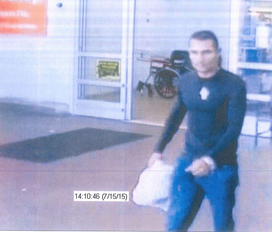 Mount Pleasant Police officers are asking for help to locate this person of interest in a credit card fraud case.