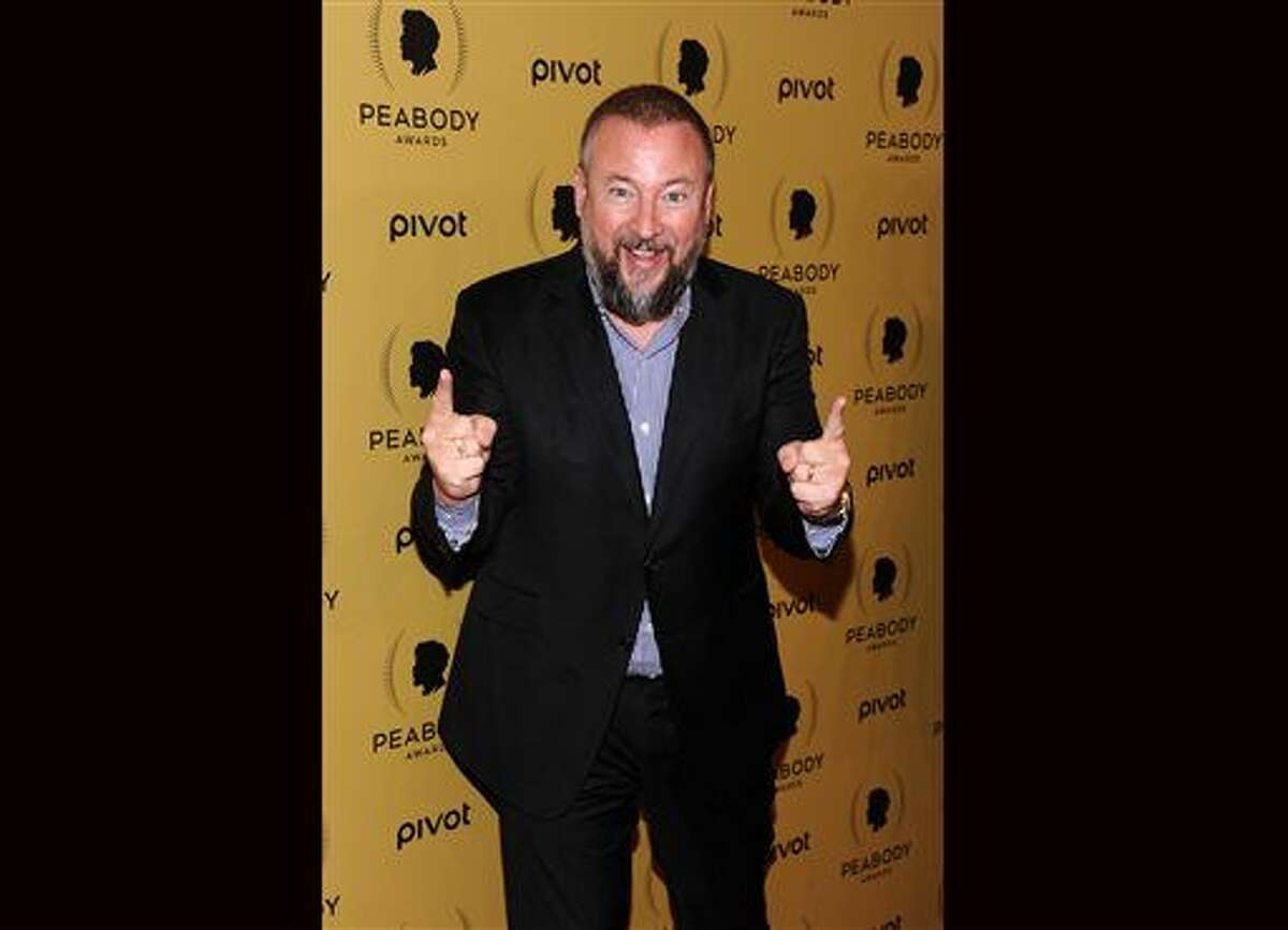 FILE - In this May 31, 2015 file photo, Vice Media chief executive Shane Smith attends the 74th Annual Peabody Awards in New York. Vice Media is partnering with A&E Networks on a new cable channel called Viceland, premiering Monday, Feb. 29, with a mix of lifestyle-related programming. (Photo by Charles Sykes/Invision/AP, File)
