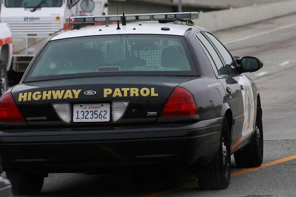 CHP patrol car in San Francisco, Calif. on Wednesday, June 26, 2014.
