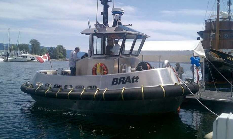 Photo providedCorvus Energy uses Dow Kokam's large-format 3.7 volt battery cells in its 6.2 kilowatt-hour battery module in boats such as the tugboat seen here. The modules are aimed at the full electric and hybrid marine propulsion system markets.