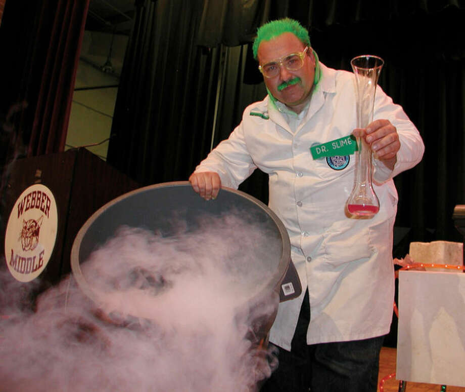 Photo providedMichael Garlick, aka Dr. Slime, will present his one hour science show Saturday as part of Grossfest at the Midland Center for the Arts.