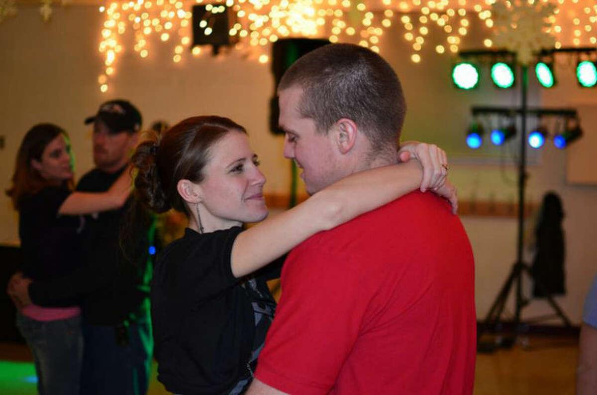 Photo providedTessica and Craig Vine enjoy a dance together at the event.