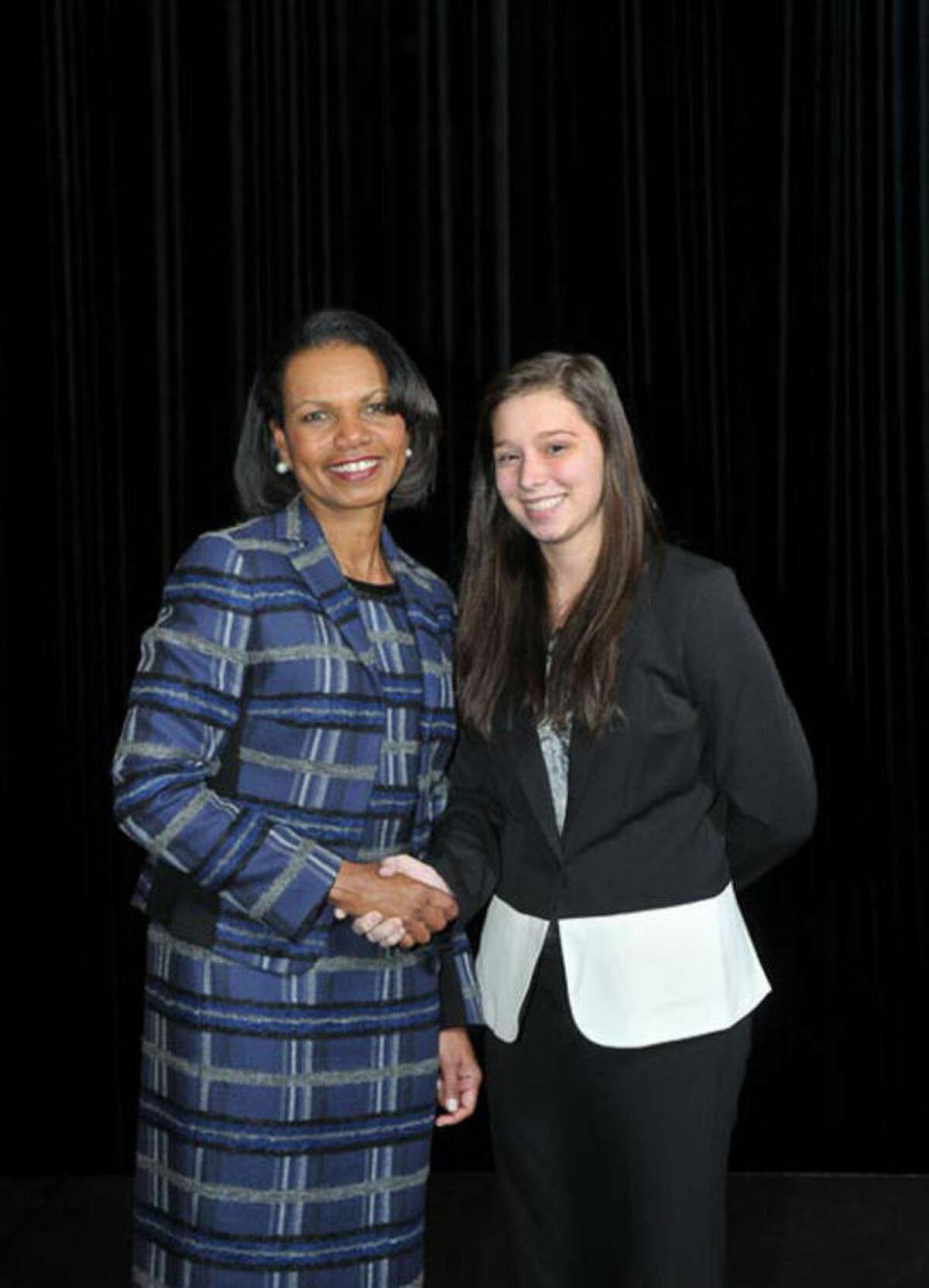 Condoleezza Rice and Lezlie Koch. Photo provided.