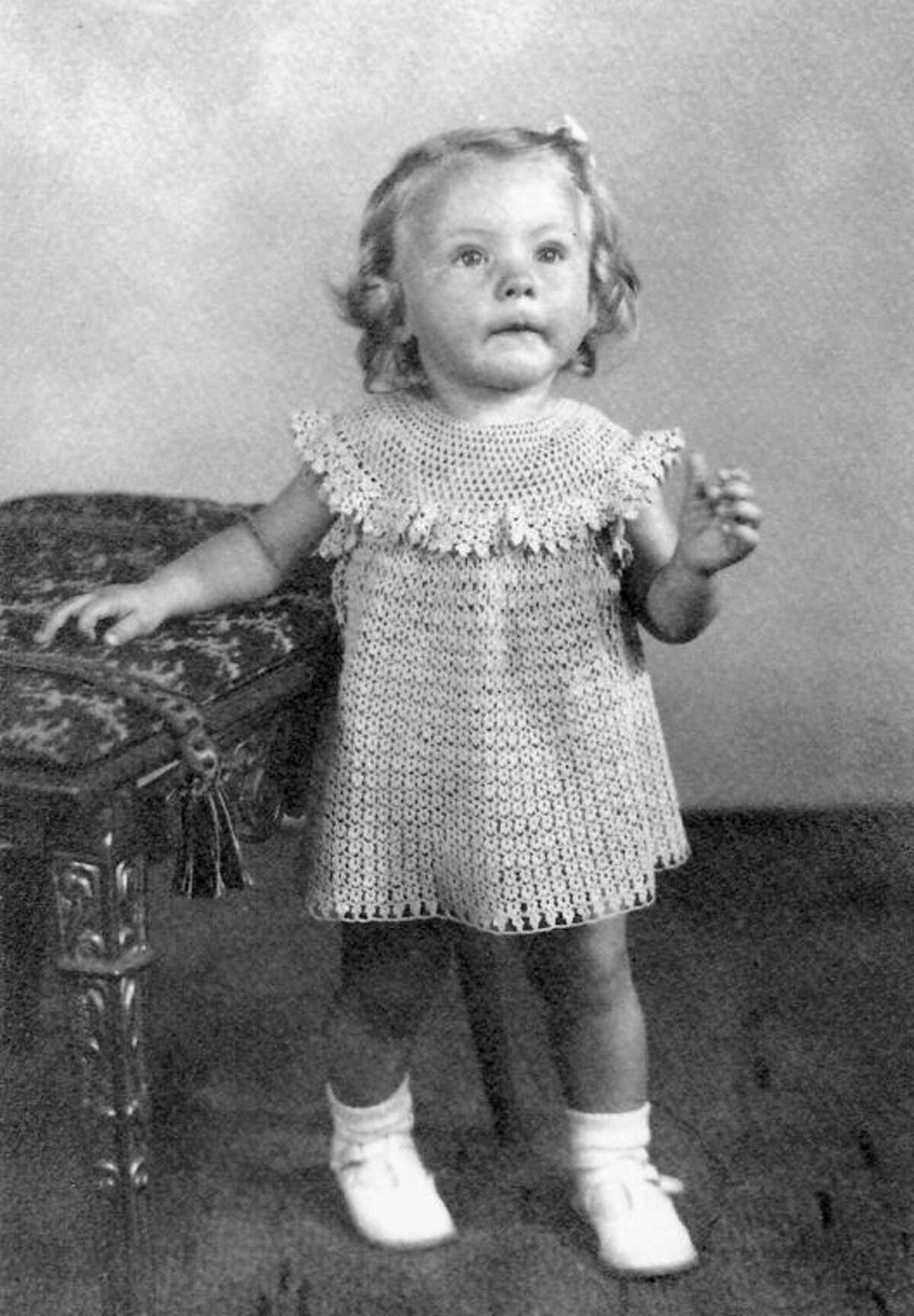 This is Jean Pifher, the first daughter born to Raymond and Dora Pifher in 1938. She was just a year old when the tornado struck.