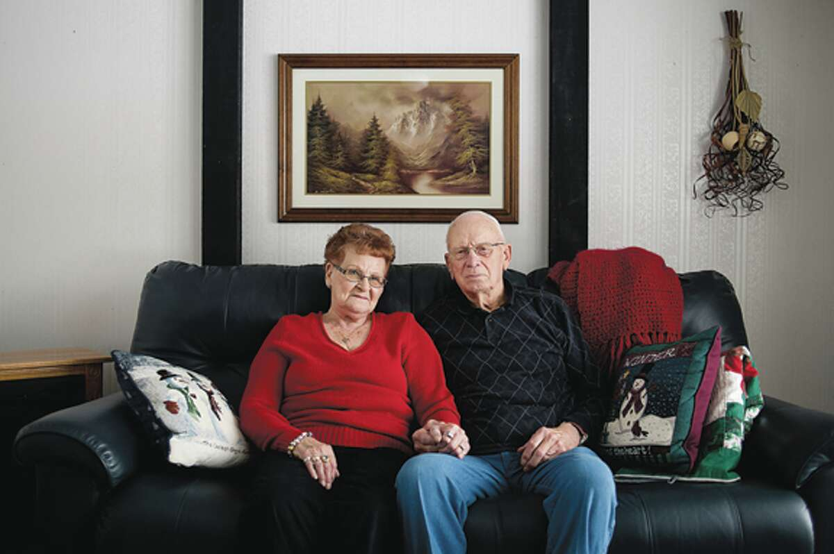 Opal and Clayton Wolfgang have been married for 65 years. They are coming up on their 66th wedding anniversary later this month. They live in a home that they built themselves on Pine River Road in Breckenridge.