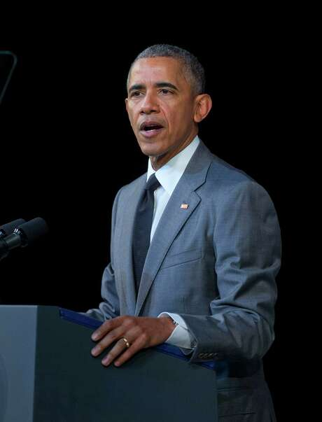 President Barack Obama speaks about the events in Brussels attack before addressing Cubans at El Gran Teatro de Havana, Tuesday, March 22, 2016, in Havana, Cuba. Photo: Pablo Martinez Monsivais, AP / AP