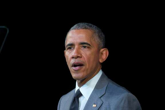 President Barack Obama speaks about the events in Brussels attack before addressing Cubans at El Gran Teatro de Havana, Tuesday, March 22, 2016, in Havana, Cuba.