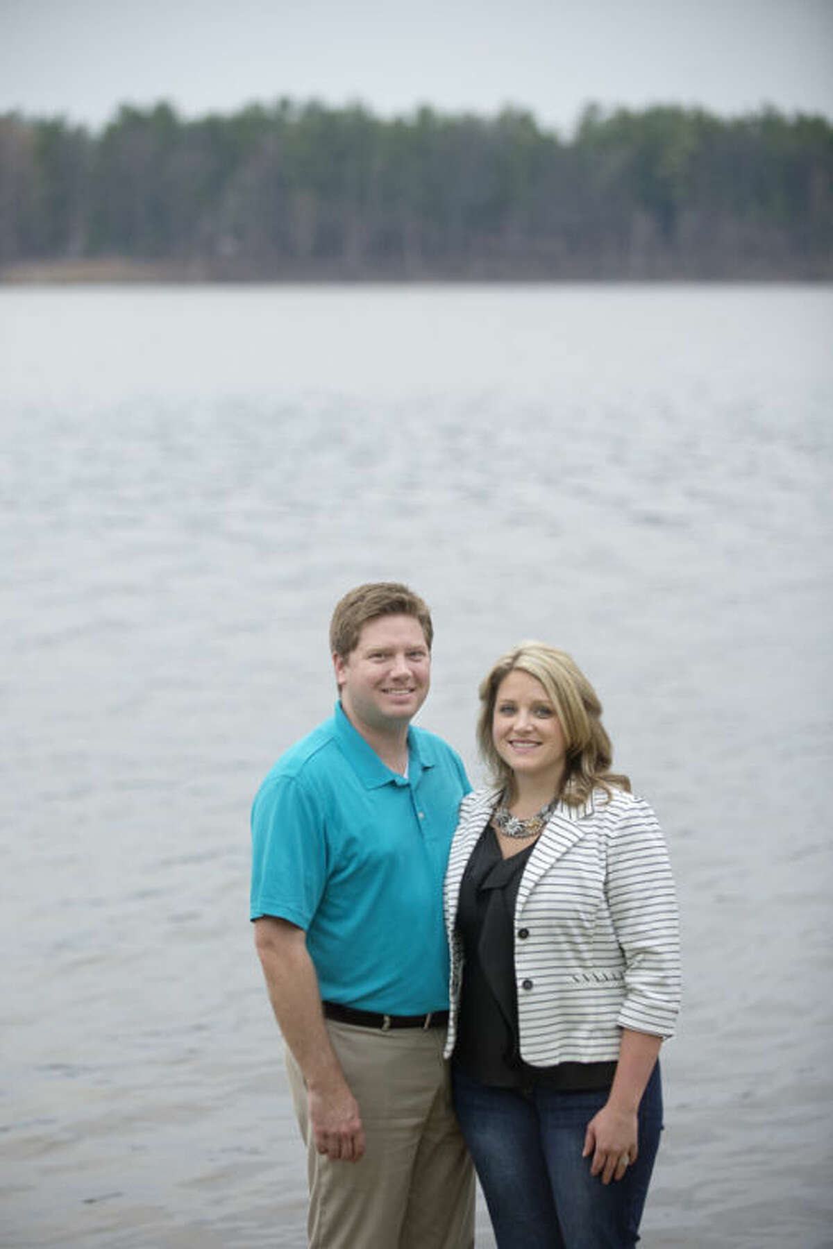 """Mike & Danielle Weinert, from Florida, looking to buy a house on waterfront property, will be featured Wednesday on HGTV's """"House Hunters."""" The show follows the couple and Realtor Denise Fladeboe on the search and ends with the purchase of one of the houses toured."""