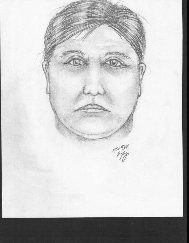 Bank robber suspect sketch