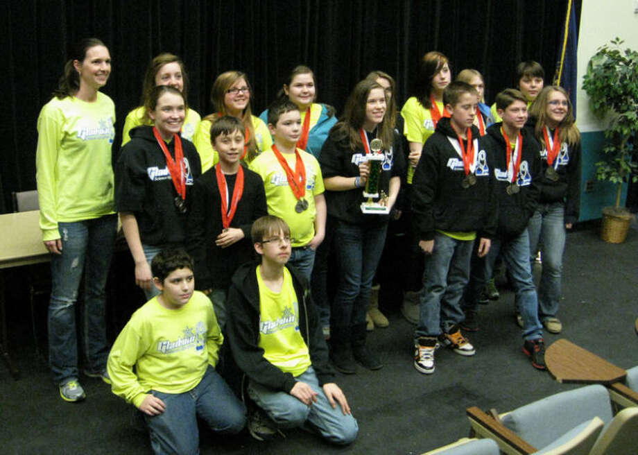Photo providedMembers of the Gladwin Junior High School Science Olympiad Team.