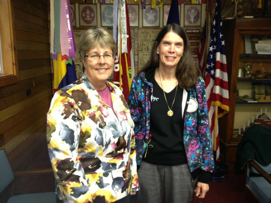 Photo providedPictured are Superintendent Mary Pitchford and Coleman Lions President Mary Jo Fachting.