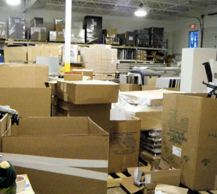 Warehouse before the rehabilitation.