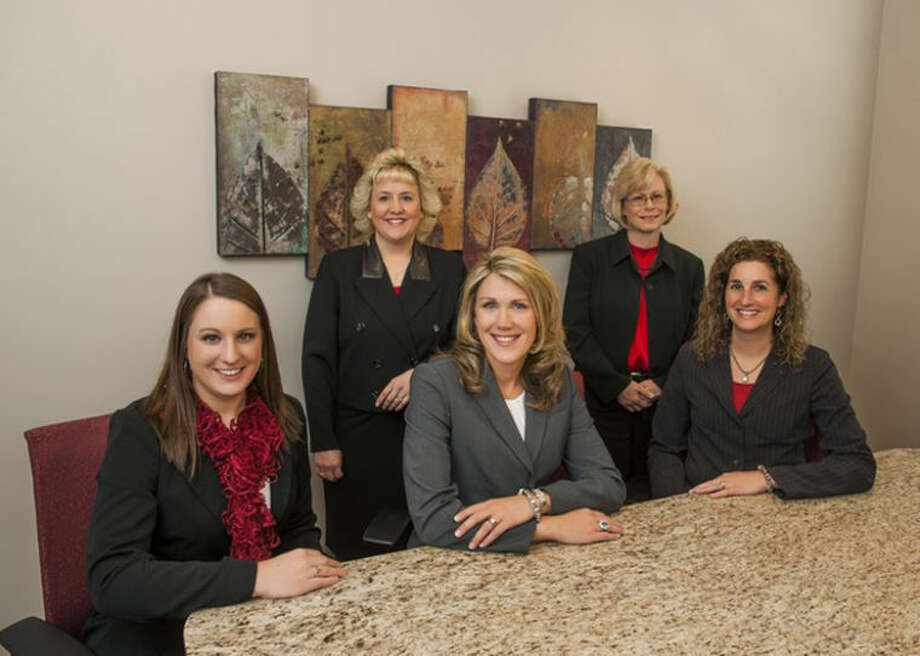 Courtesy Photo The staff at Astrike Financial. From left: Erica Pomranky, Roxann Lehr, Shannon M. Astrike, Carol Vinande and Jennifer Chichester.