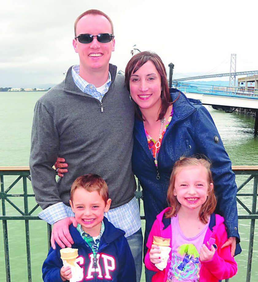 Photo providedScott Reed and his family.