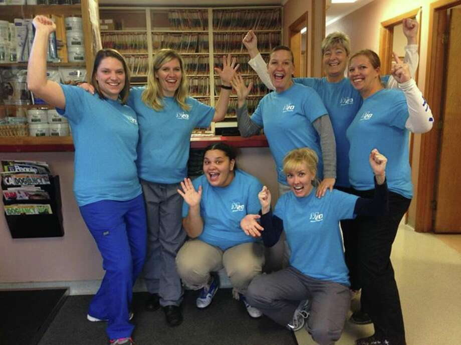 Photo providedPictured are members of the M-20 Animal Hospital team.
